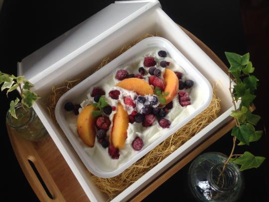 CHICHIYAのジェラート果物たっぷり大きなジェラート 1.5L